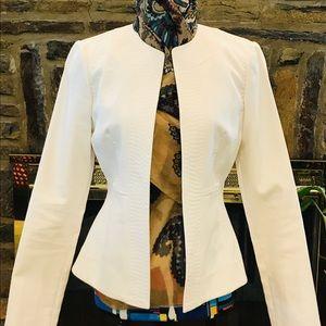 Adrienne Vittadini Cotton Blazer Size 2
